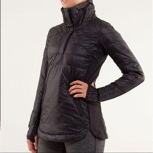 Lululemon What The Fluff Pullover Jacket Black